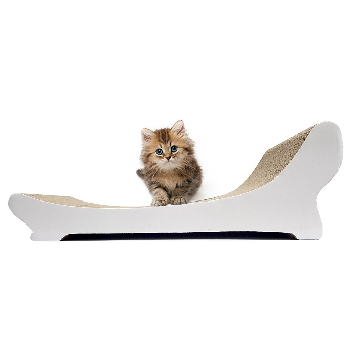 Popular Paper Cardboard Cat Scratcher Lounge