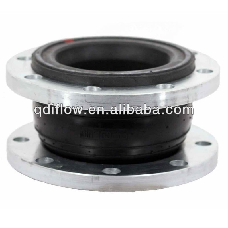 Hypalon rubber expansion joint with flange coonection