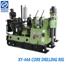 Powerful spindle type XY-44A shallow petroleum & gas drilling machine with ISO certificated