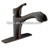 new ORB plated cupc brass pullout spray kitchen faucet