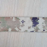 Military Nylon or as customzied,cotton ,polyester printed elastic Webbing