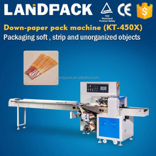 High precision cutlery packing machine semi automatic with pillow bag