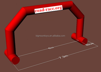One time inflated inflatable arch good quality low price
