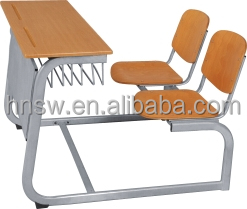 high quality child standard classroom desk and chair school furniture