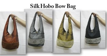 Silk Hippie Tribal Sling HOBO Shoulder Hand Bag
