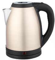 Dubai Saudi Market Wide Mouth 2.0L Energr Saving Colorful Stainless Steel Electric Kettle