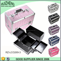 Lockable carry aluminum cheap custom cosmetic box case
