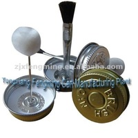 Brush Cap For Pvc Cans Screw