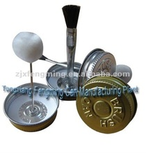 brush cap for pvc cans, screw lid with brush