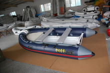 RIB330 boat rigid floor with inflatable china rib boat