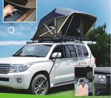 JWY-003 Modern design automatic suv camping roof top tent car