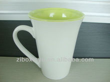 16OZ White Sublimation Mugs With Color Inside For Heat Transfer Print