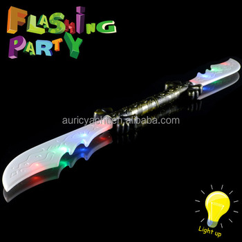 2015 led sword,led light sword,light up sword 12334