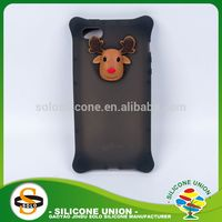 soft silicone phone case silicone gel catoon cat silicone phone case