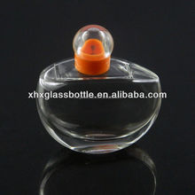 2013 new design crystal glass bottle for perfume