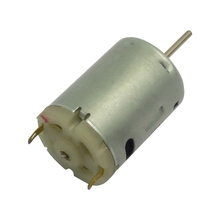 RS-385 Micro Electric pmdc motor,3v,6v,12v,24v, 1w-20w output, for massager and other electric devices, can be customized