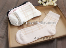 Natural color cotton environmental protection breathable and comfortable socks