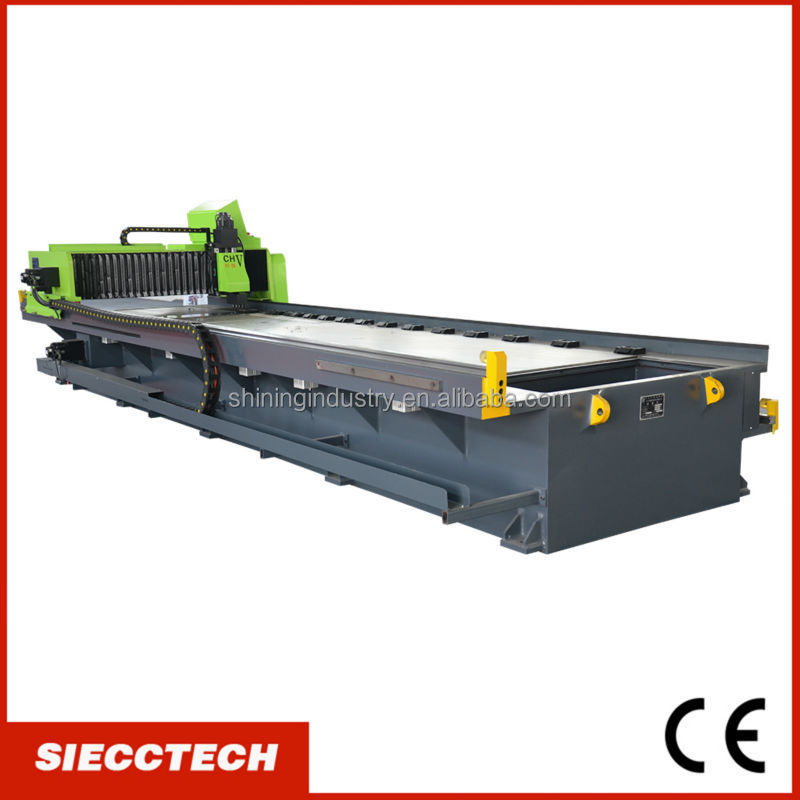 SIECC <strong>cnc</strong> high speed vertical/horizontal v grooving/slotting/cutting machine