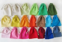 customized eco promotional small organic promotional small organic cotton drawstring bag