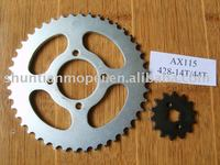 D-646 motorcycle chain sprocket