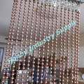 Decorative 6mm Metal Bead Copper Ceiling Curtain String