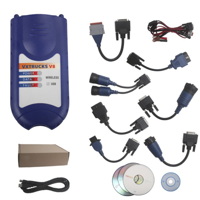 Nexiq Truck diagnostic Tool+Full cables NEXIQ USB Link 125032