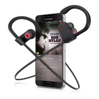 OEM LOGO Wireless Sport Headphone Bluetooth V4.1 Headphones Sweatproof In-ear Stero Earphone with Mic Handsfree Calling