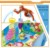 Baby's small world activity gym baby playing mat