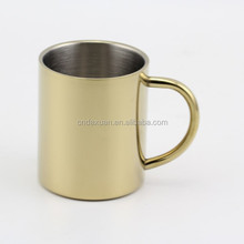 Wholesale Promotional Reusable Double Wall Stainless Steel Coffee Cup Bpa Free With Lid