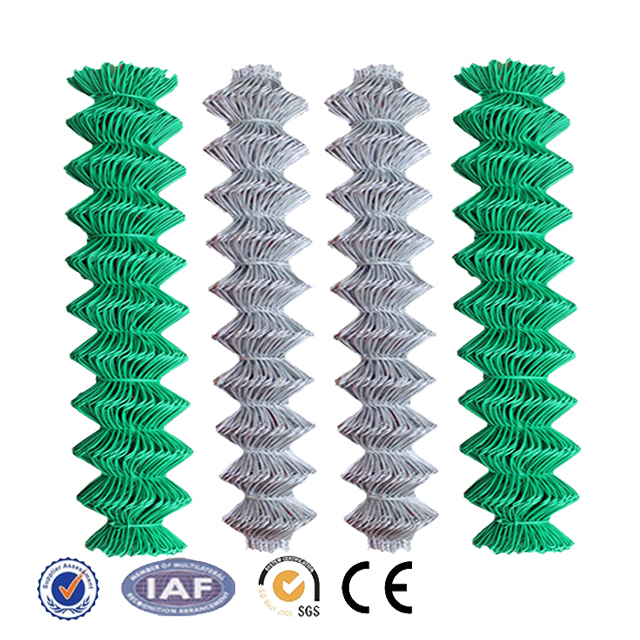 Shengxin fence pvc coated and galvanized chain link fencing