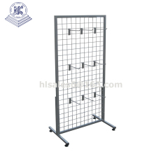 Metal wire decorative display metal mesh panel stand