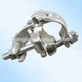 Hot sale types of trailer pipe coupler scaffolding clamp