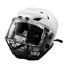 Low price Ice hockey helmet with clear visor and cage with CE Approved