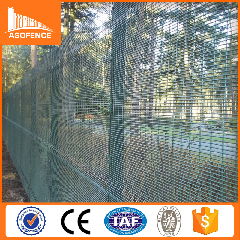Security wire mesh panels/clear panel fence panels