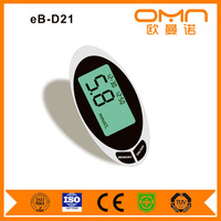 glucose and cholesterol meter glucometer with easy measuring