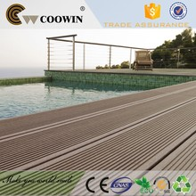 cheap decoration wood plastic outdoor new tech wpc 100% composite deck