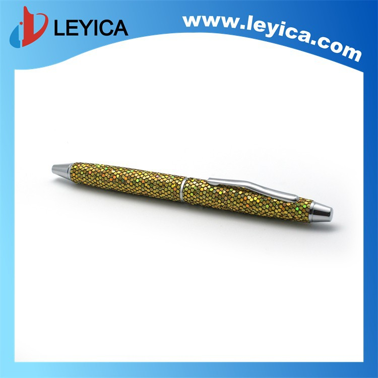 Company logo print novelty bal pen for company promotion LY-136