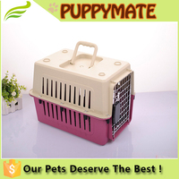 Stylish New Design Plastic Pet Carrier Transportation Box