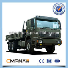 China howo brand 30t Capacity load truck military 6x6 diesel truck hot sale