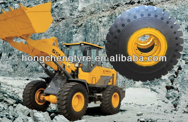high quality of 23.5-25 solid tires OTR big truck tires for sale