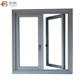 Custom opening 180 degree aluminum casement inward opening casement window