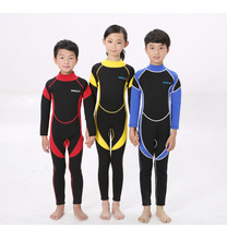 High Quality 2.5mm Colors Kids Keep Warm Diving Surfing Suit & Wetsuits Scuba Clothing Swimwear Neoprene Diving Suits