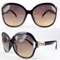 2016 Luxury Sunglasses Women Fashion Round Ladies Vintage Retro Brand Designer Oversized Female sunglasses