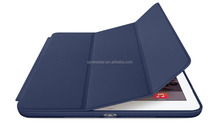Stand Case Cover with built in magnet for sleep wake feature case, leather case for ipad 2 3 4 5 6 for ipad mini
