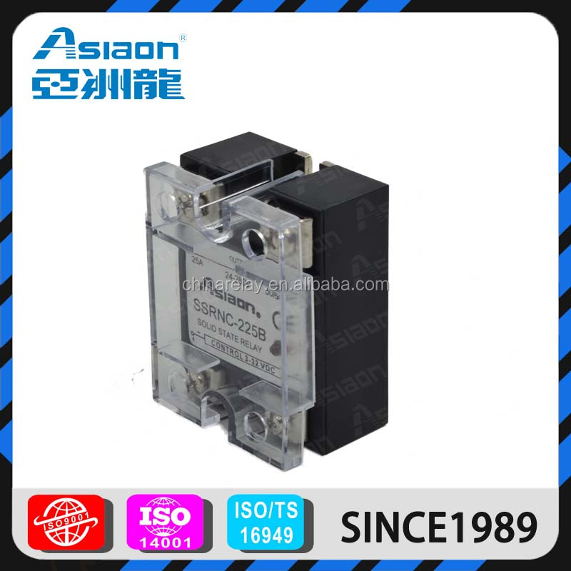 Asiaon relay manufacture ssr dc 12v solid state relay
