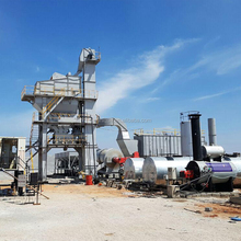 Unique brand 240T/H asphalt mixing plant for sale to Philippines
