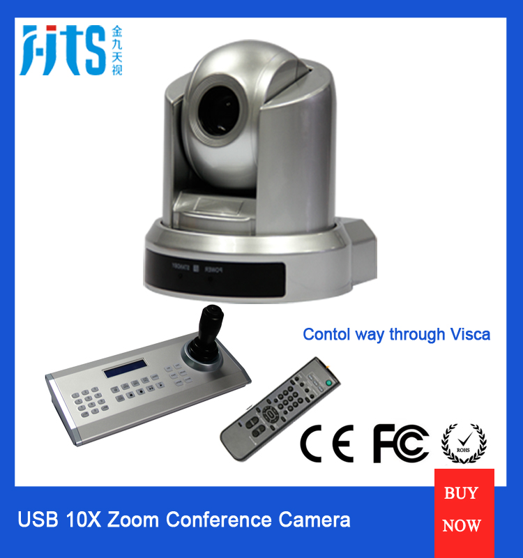 10X Optical Zoom USB 2.0 Video Conference Camera For Video conferencing, Distance Learning, Training Meeting
