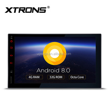 "XTRONS TE706PL 7"" 32GB + 4G RAM Touch Screen double din car stereo android with wifi screen mirroring/OBD2, android oreo dvd"