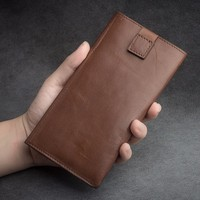 QIALINO Drop Shipping Case, Ultra Thin Genuine Leather Pouch For iPhone 6 wallet Case For iPhone6 plus