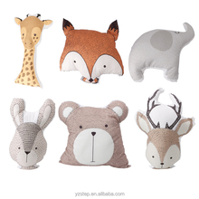 Cute Sika Deer Bear Rabbit Elephant Fox Giraffe Stuffed Animal Plush Toys for Infant,Baby and Toddler